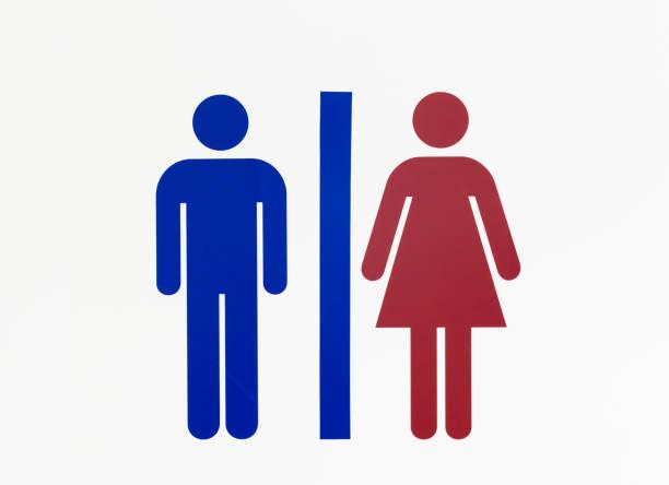 Sinal de sanitário  - foto de acervo