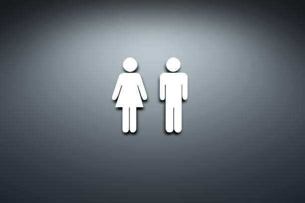 toilet symbol stock photo
