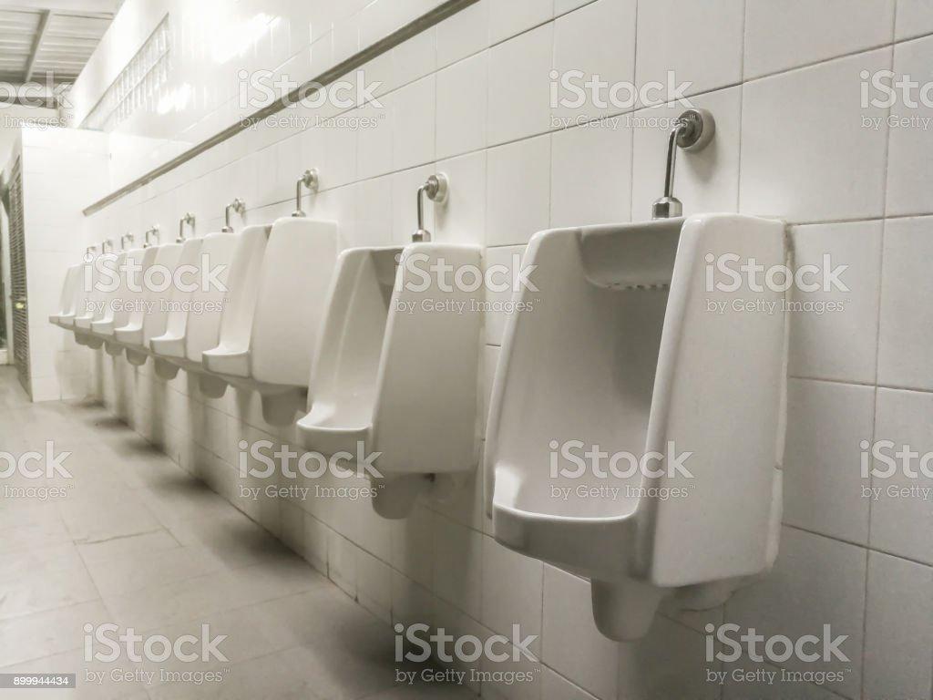 Toilet, Urinal, Bathroom, Bangkok, Thailand stock photo