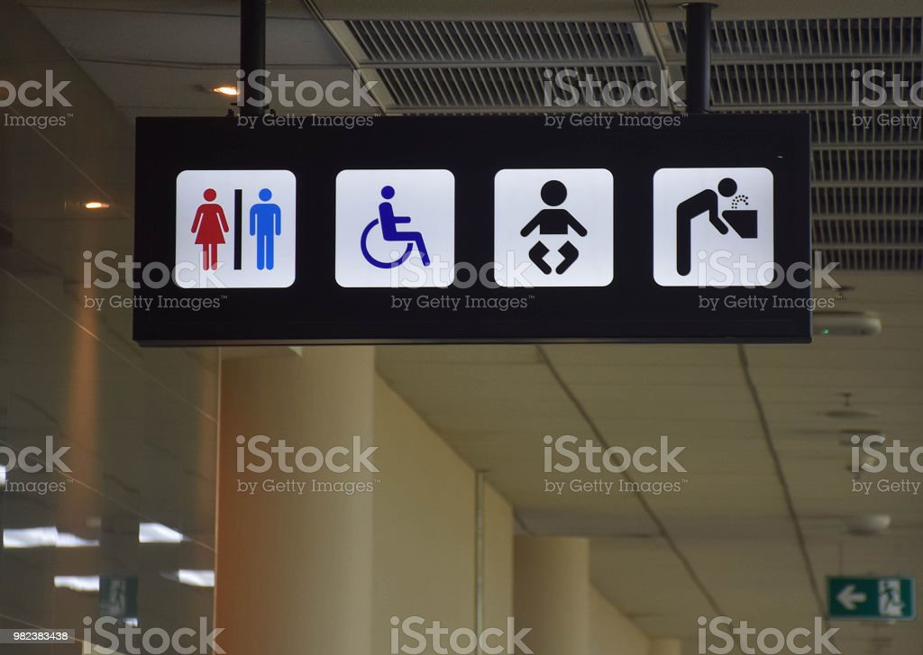 Toilets Disabled Symbol Drinking Water Baby Diaper Table Changing - Disabled changing table