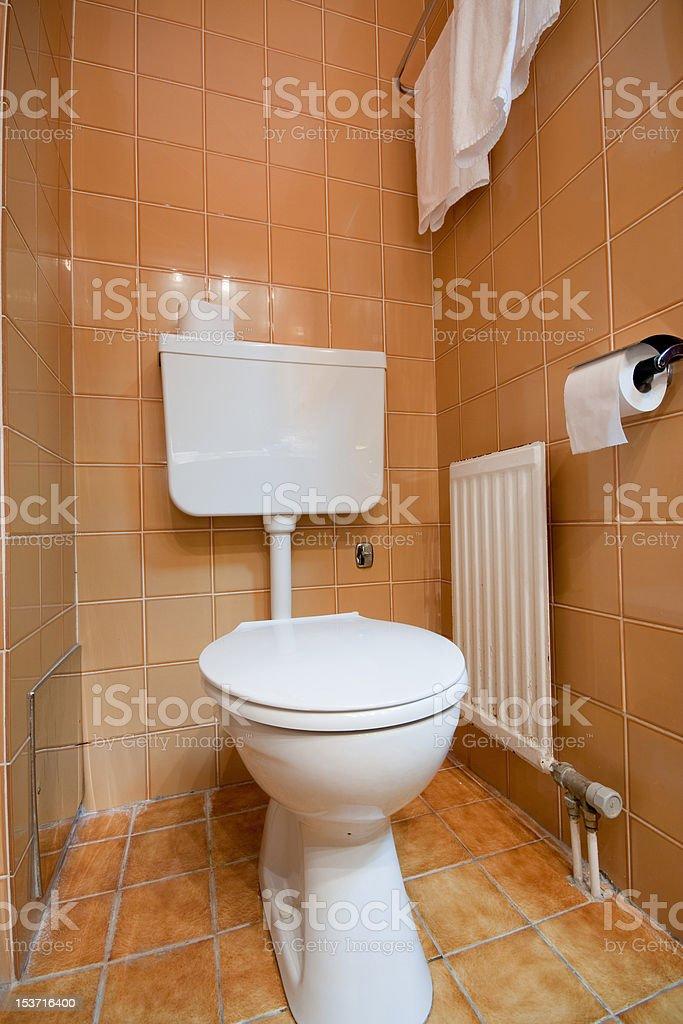 toilette royalty-free stock photo