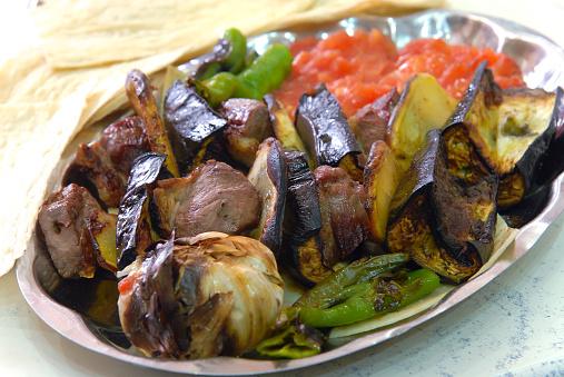 Tokat kebab – a local Turkish dish.