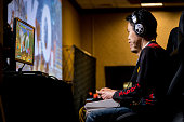 "Sacramento, CA, USA – March 27, 2016: Hajime ""Tokido"" Taniguchi KOs Julio in Round 4 of Street Fighter V (5) at fighting game tournament NCR NorCal Regionals 2016."
