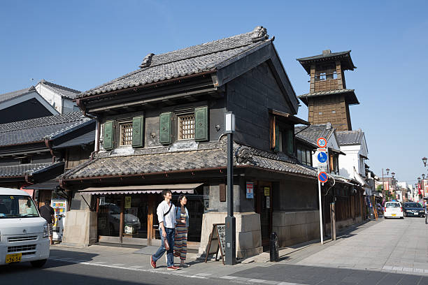 tokinokane 、川越市、日本 - 埼玉 ストックフォトと画像