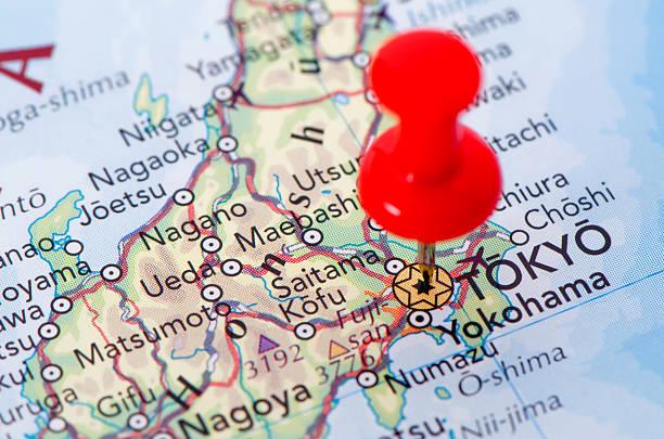 tokio マップ - 日本 地図 ストックフォトと画像