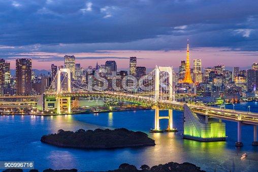 928415496 istock photo Tokyo Bay, Japan 905996716