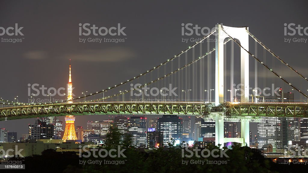 Tokyo Bay royalty-free stock photo