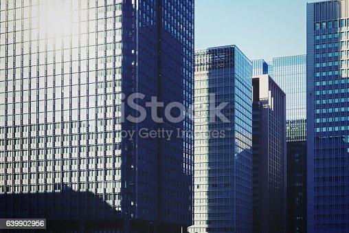 istock Tokyo, building group 639902956