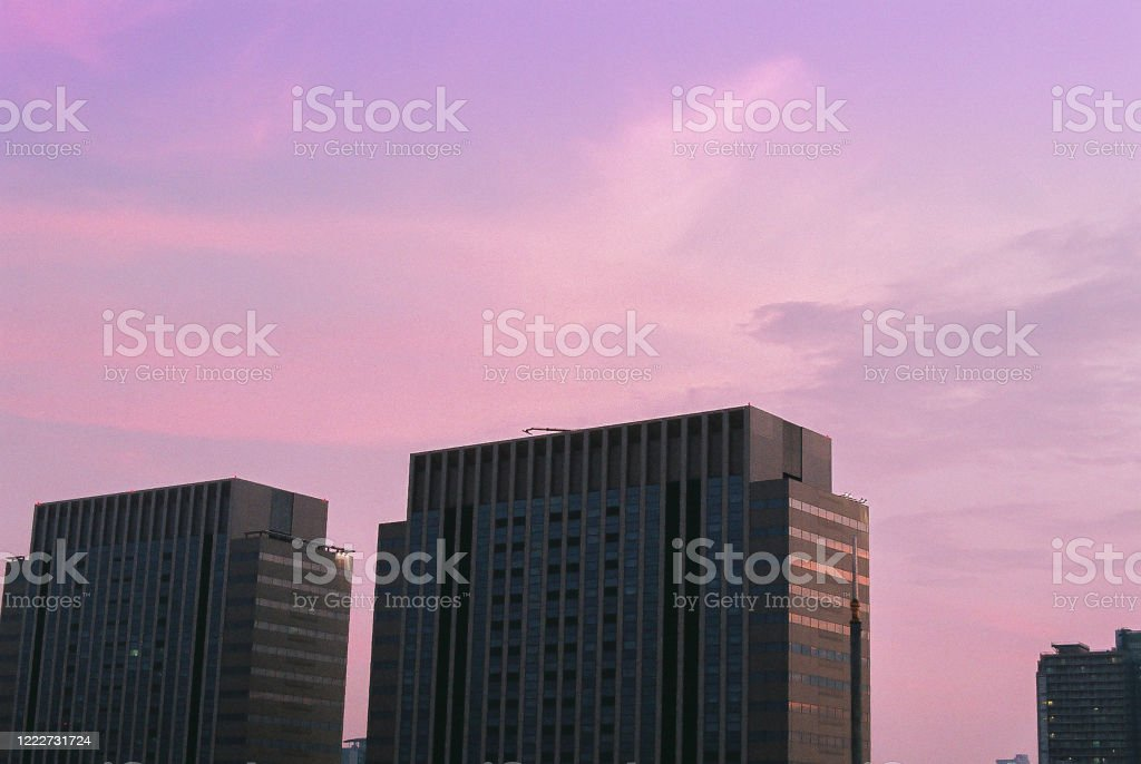 Tokyo Buildings During Sunset Stock Photo Download Image Now Istock