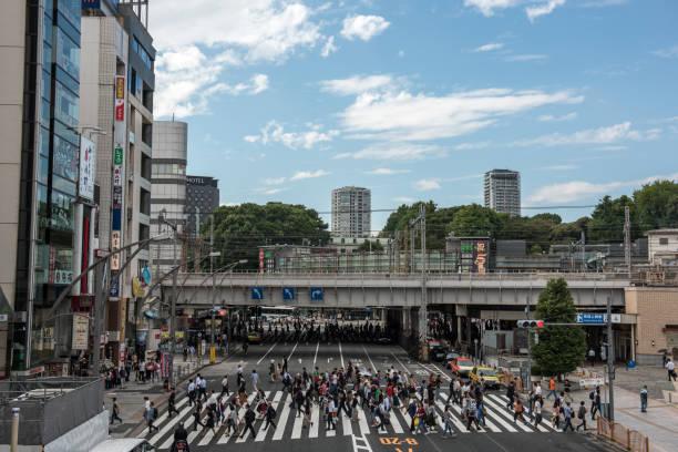 tokyo city stock photo