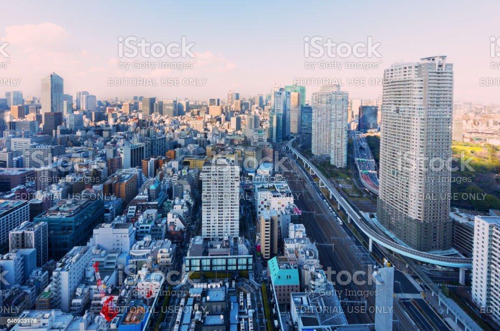 Tokyo City Scape stock photo