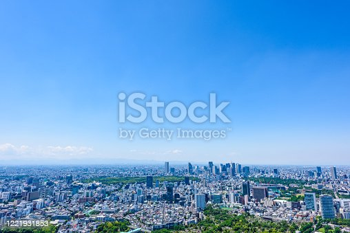 istock Tokyo city skyline , Japan. 1221931853