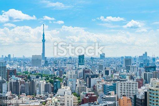 1184122904 istock photo Tokyo city skyline , Japan. 1222132156