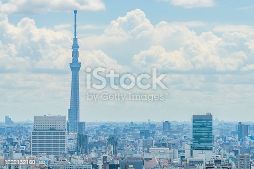 1184122904 istock photo Tokyo city skyline , Japan. 1222132160