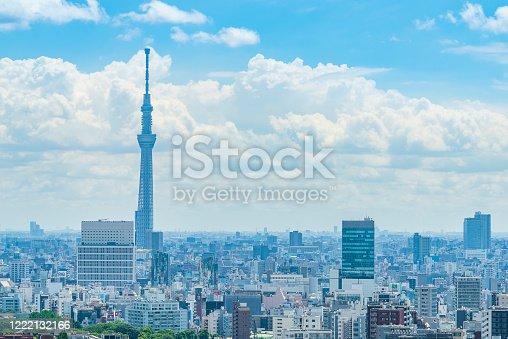 1184122904 istock photo Tokyo city skyline , Japan. 1222132166