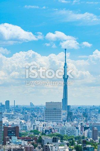 1184122904 istock photo Tokyo city skyline , Japan. 1222132167