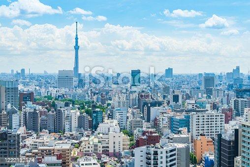 1184122904 istock photo Tokyo city skyline , Japan. 1222132174