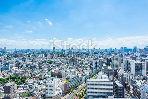 1184122904 istock photo Tokyo city skyline , Japan. 1222132182