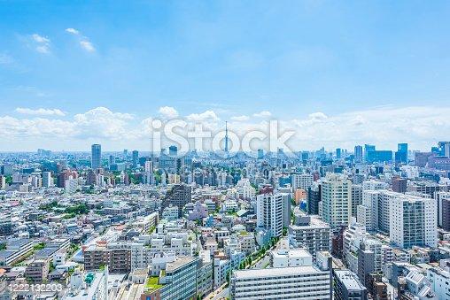 1184122904 istock photo Tokyo city skyline , Japan. 1222132203