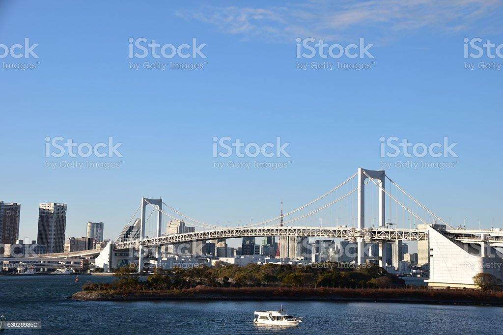 Tokyo city view daytime stock photo