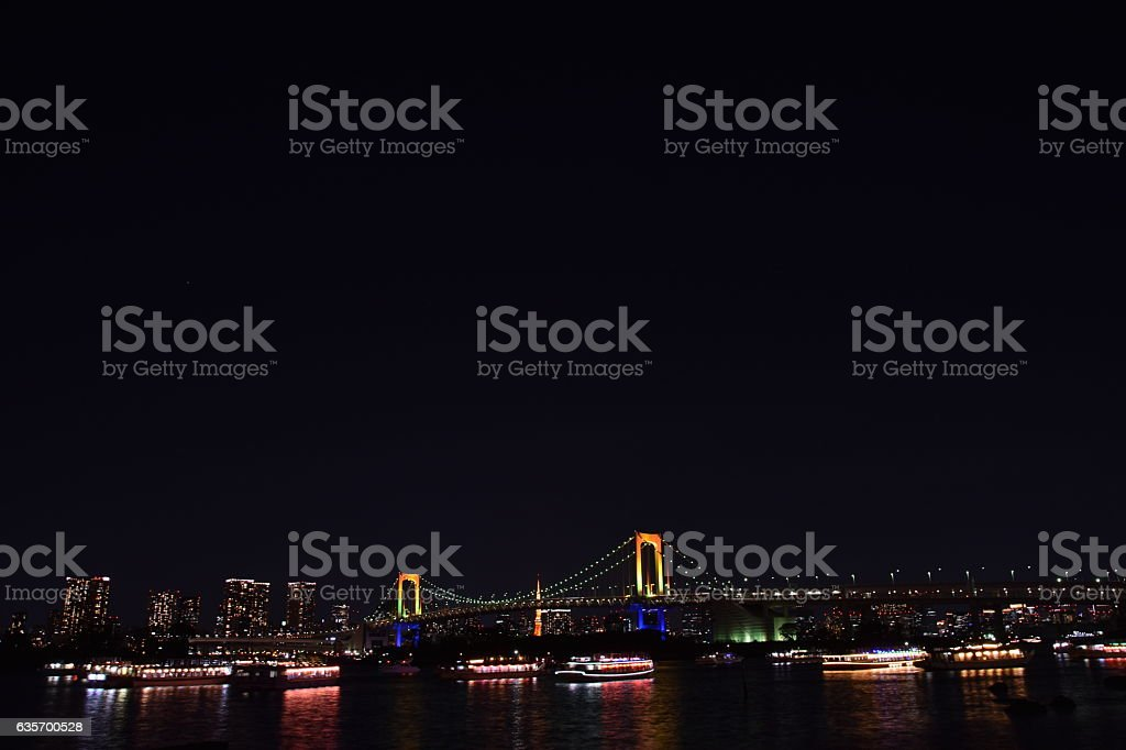 Tokyo city view royalty-free stock photo