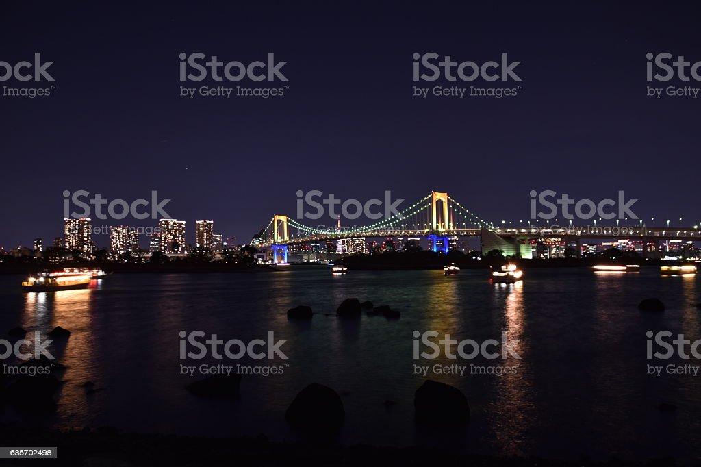Tokyo city view royalty-free stock photo