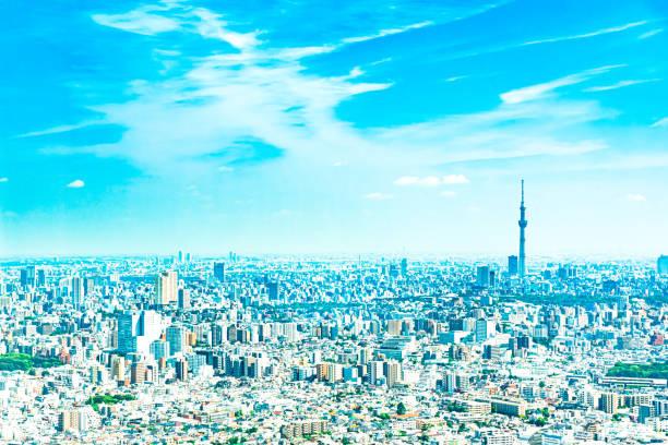 東京の街並み - 街 日本 ストックフォトと画像