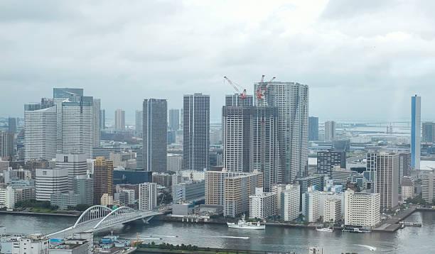 Tokyo cityview stock photo