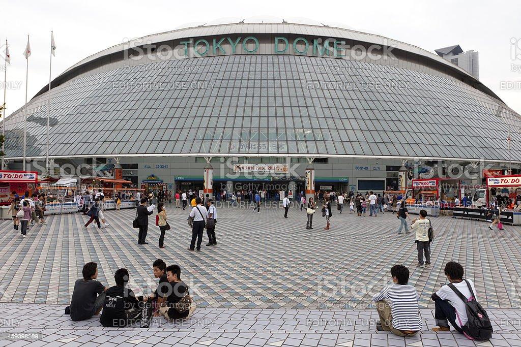 Tokyo Dome en Japón - foto de stock