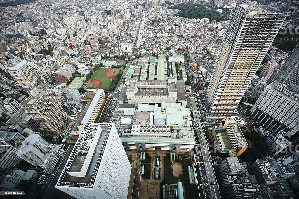Tokyo von oben – Foto