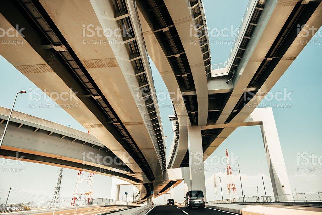 Tokyo Highway stock photo