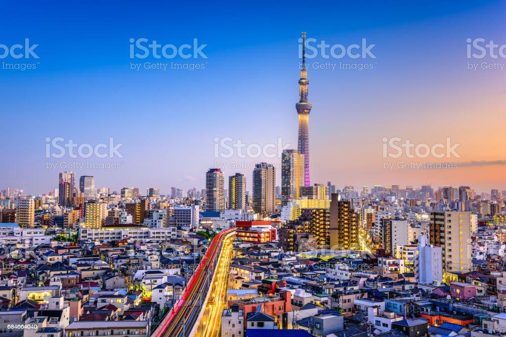 Tokyo, Japan Cityscape stock photo