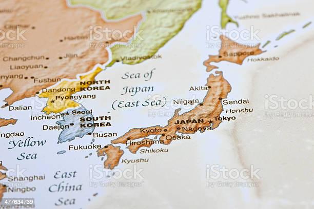 Cartina Giappone In Italiano.Tokyo Giappone Mappa Fotografie Stock E Altre Immagini Di Carta Geografica Istock