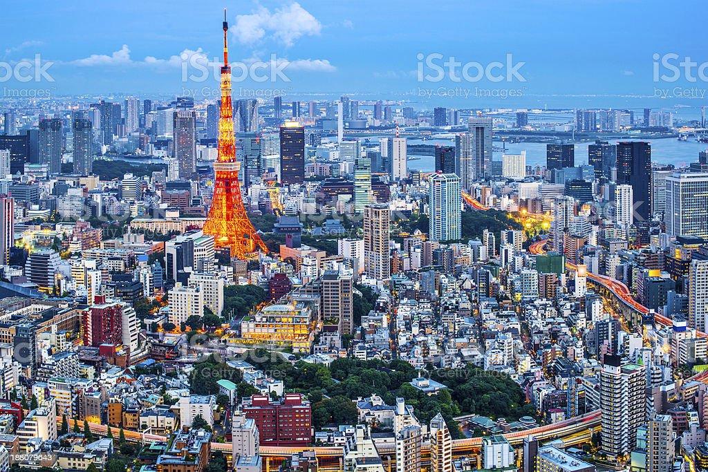 Tokyo, Japan stock photo