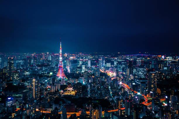 東京、日本スカイライン - 東京 ストックフォトと画像