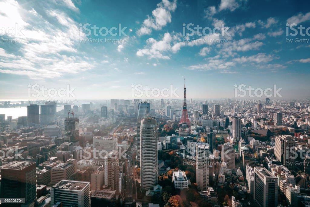 Skyline von Tokio, Japan – Foto
