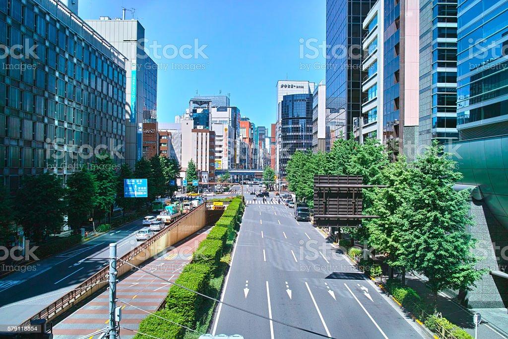 Tokyo landscape stock photo