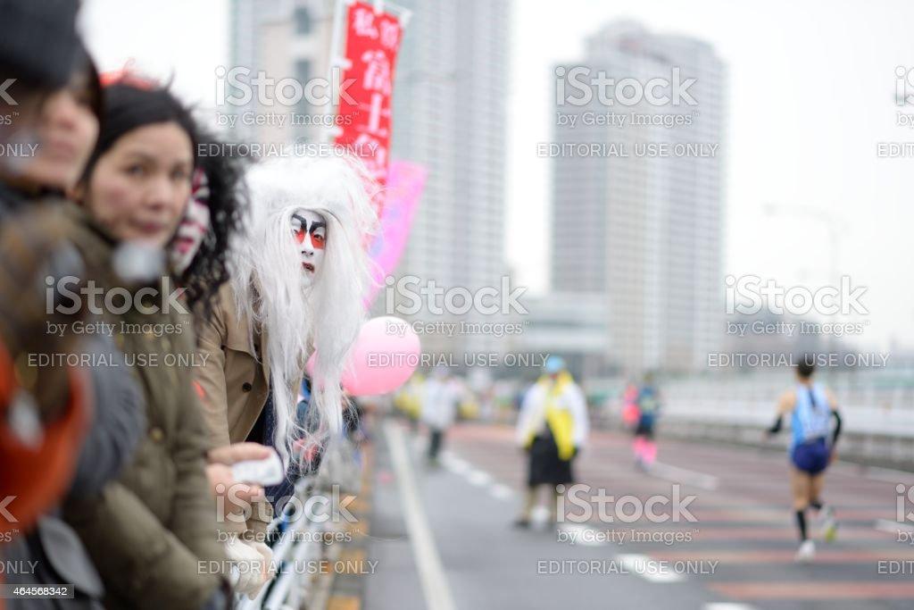 Tokyo Marathon stock photo