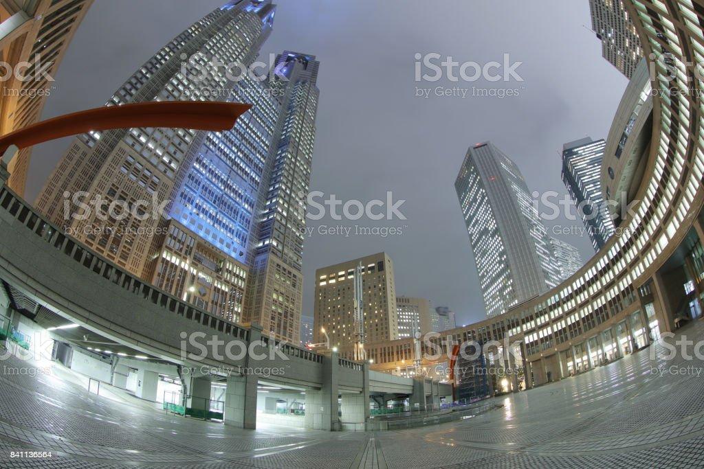 東京大都會裝配大樓。圖像檔