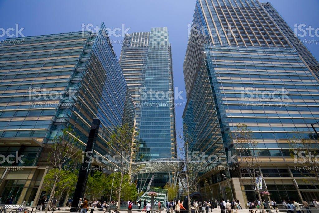 Tokyo Midtown stock photo