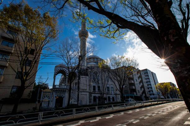 Tokyo Mosque stock photo