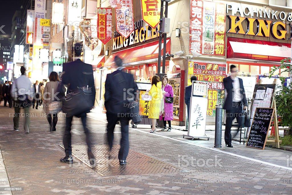 Tokyo Nighlife stock photo