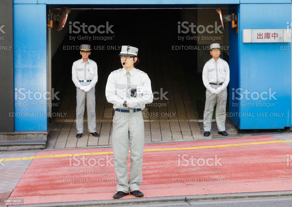 Tóquio os funcionários - foto de acervo