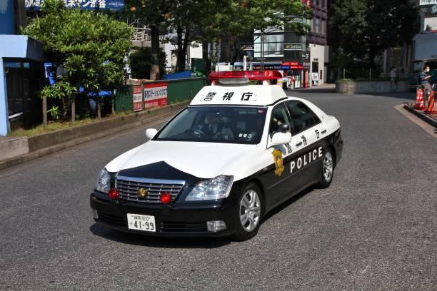 Polizeiauto in Tokio – Foto