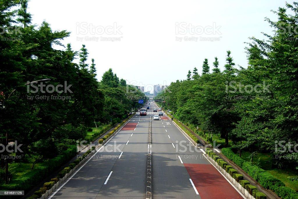 東京 road ストックフォト