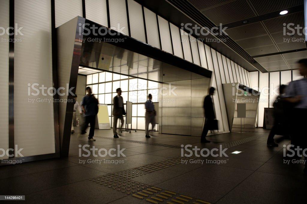 Tokyo rush royalty-free stock photo