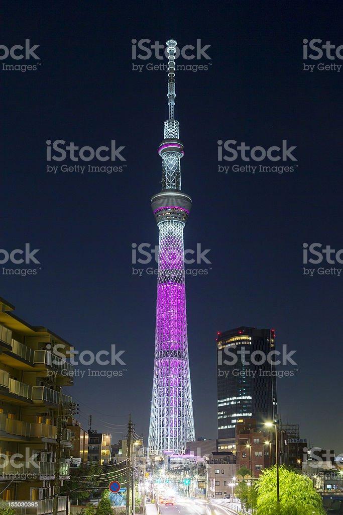 Tokyo Sky Tree royalty-free stock photo