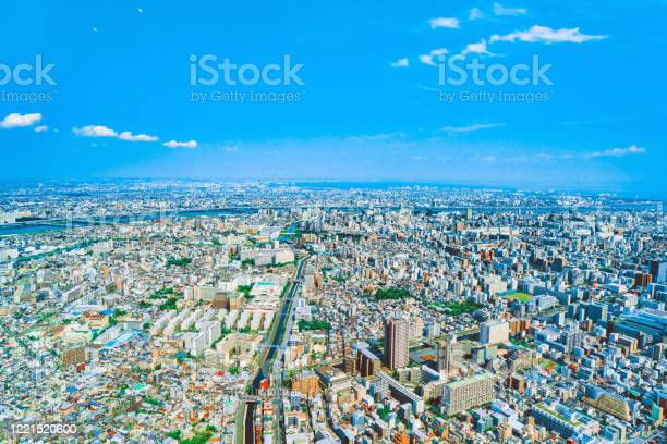 Photo of Tokyo skyline from the tower