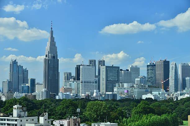 Skyline von Tokio – Foto