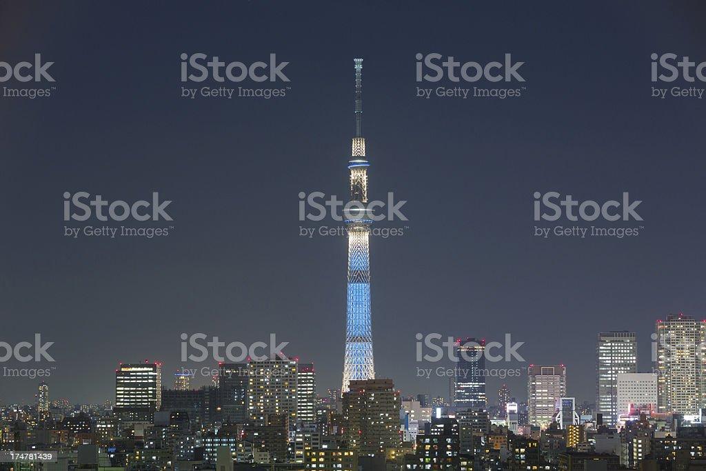 Tokyo Skytree royalty-free stock photo